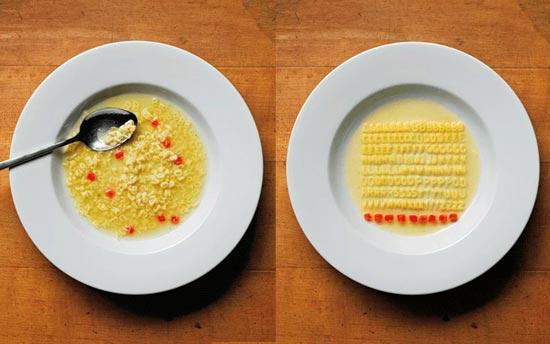art of clean up noodles