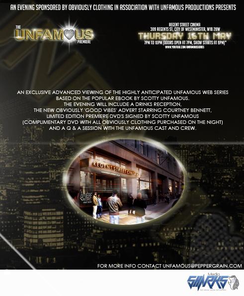 unfamous premiere flyer back