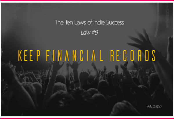 keep financial records