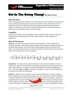 Get-In The Swing Thang (FUNdamentals) 4 Horn Alto