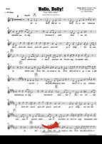 Hello Dolly (Bobby Darin) 4 Horn Bari