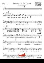 Standing On The Corner (Dean Martin) 4 Horn Alto