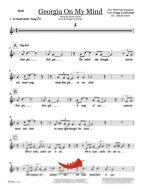 Georgia On My Mind (PepperHorn Standards) 5 Horn 3 Saxes