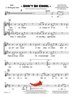 Don't Be Cruel ('68 Comeback) (Elvis Presley) 4 Horn Bari