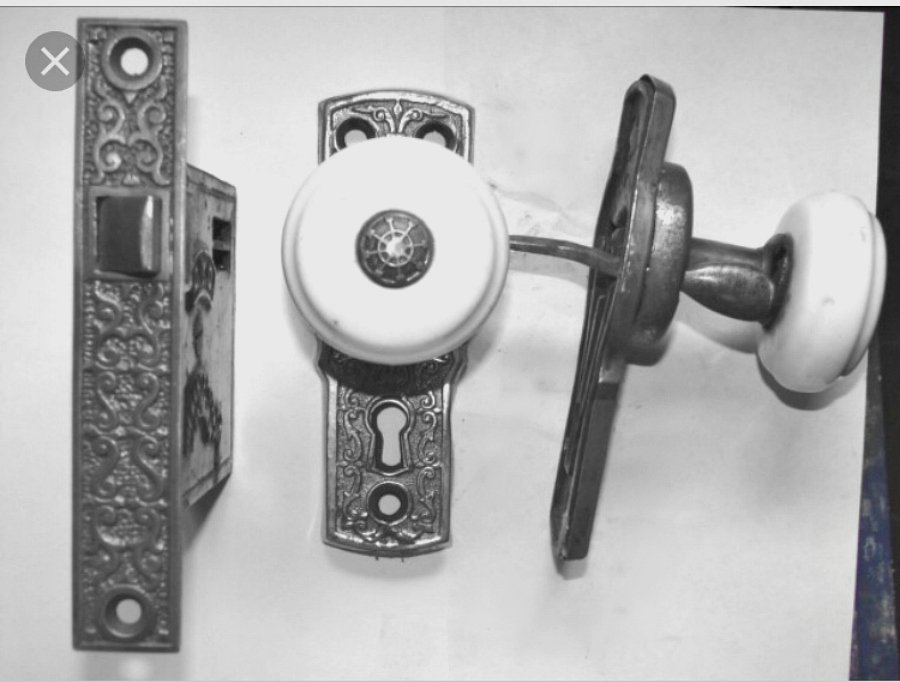 a piece of history (hardware)- lock