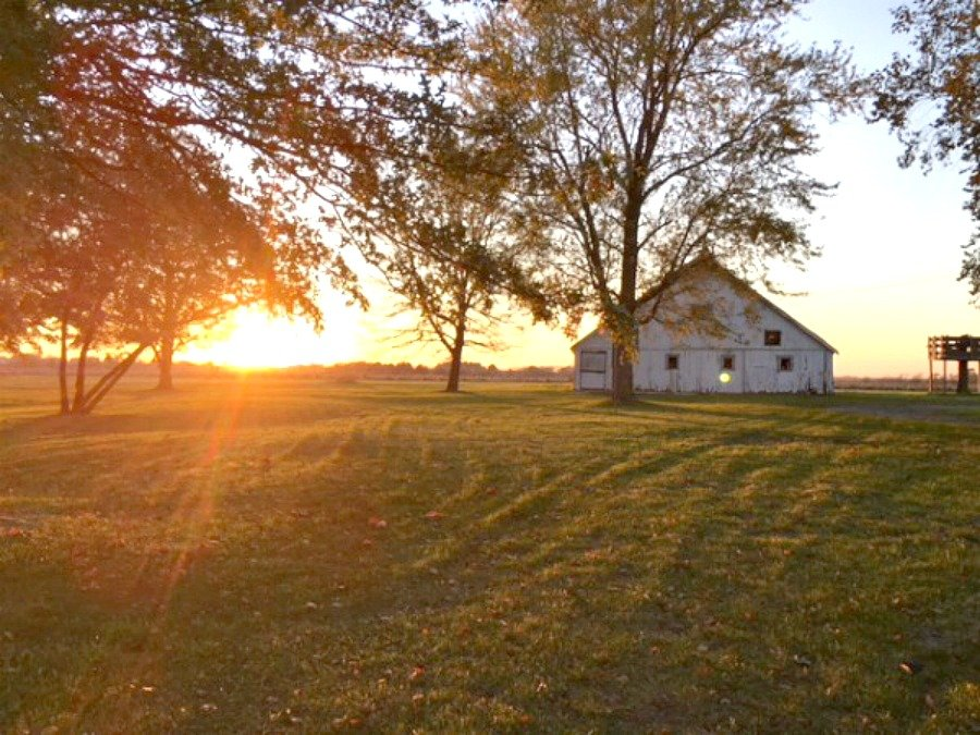 fall in love with Fall in Iowa-barn-peppermillbnb