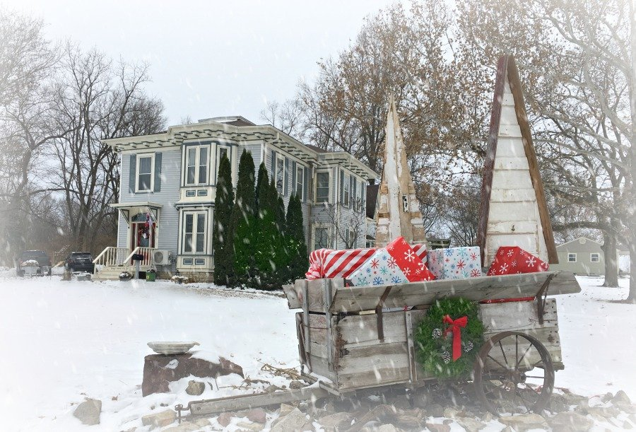 Holiday Tour of Homes 2018-peppermillbnb-wagon