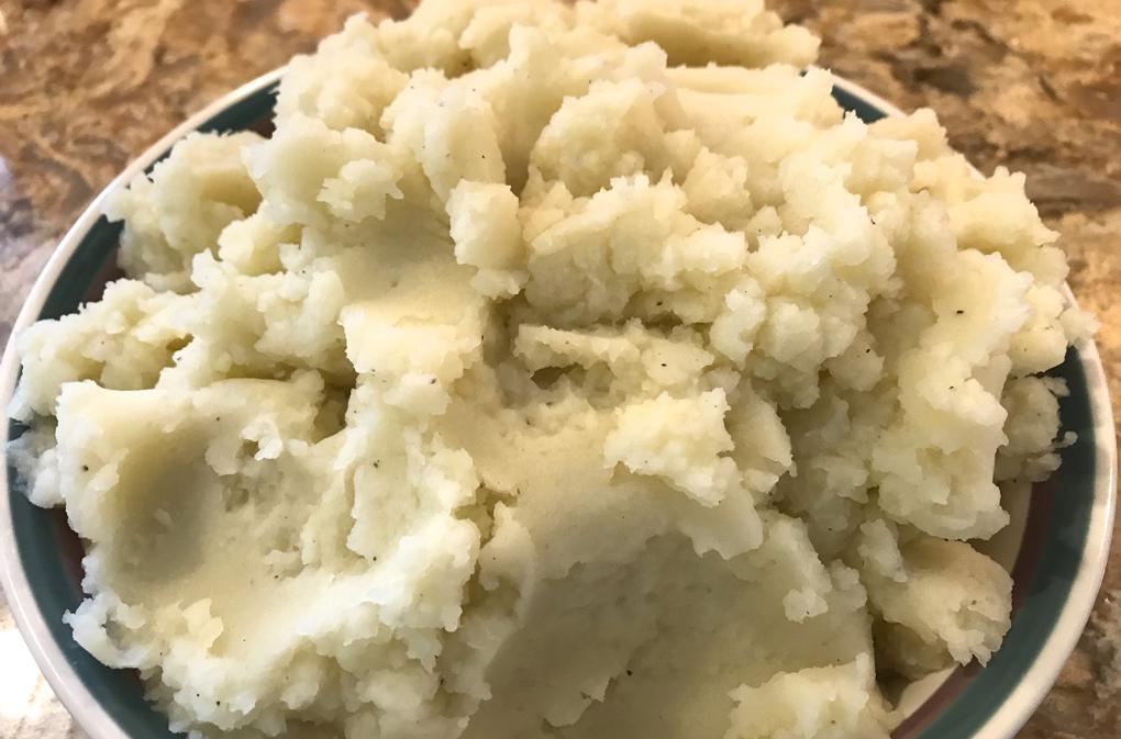 Photo of Vegan Mashed Potatoes as healthy holiday recipe