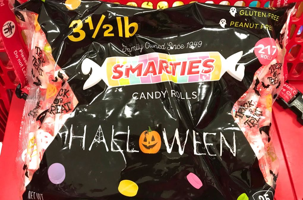 1020 - Bag of Smarties for Halloween