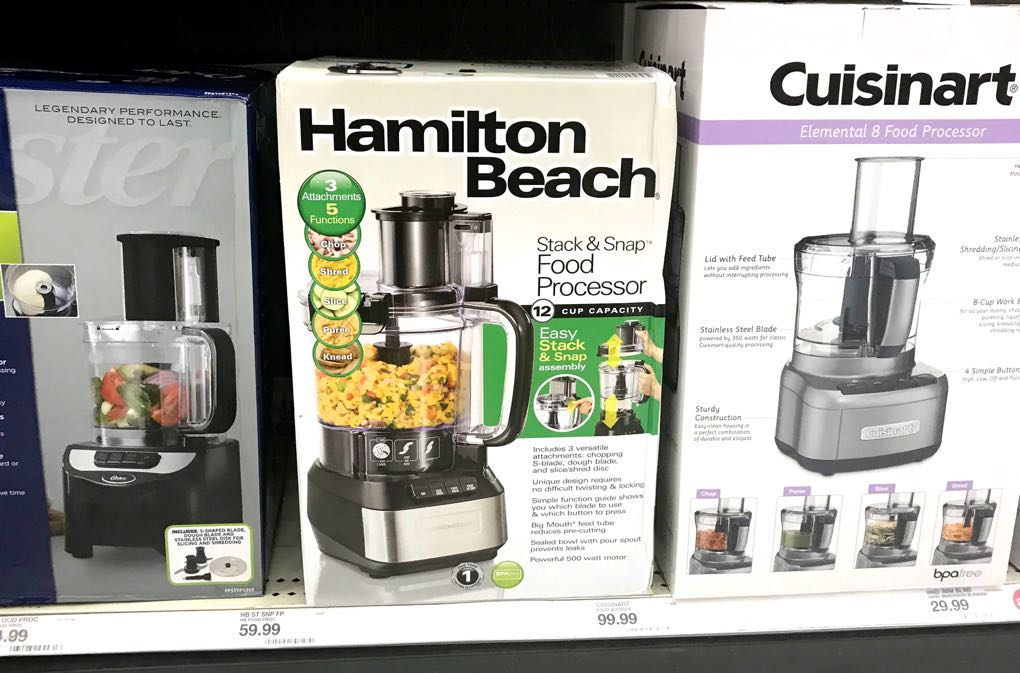 Photo of food processors in boxes as some of the best kitchen gifts for healthy cooking