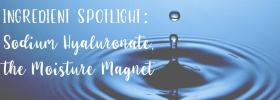 Ingredient Spotlight: Sodium Hyaluronate, the Moisture Magnet