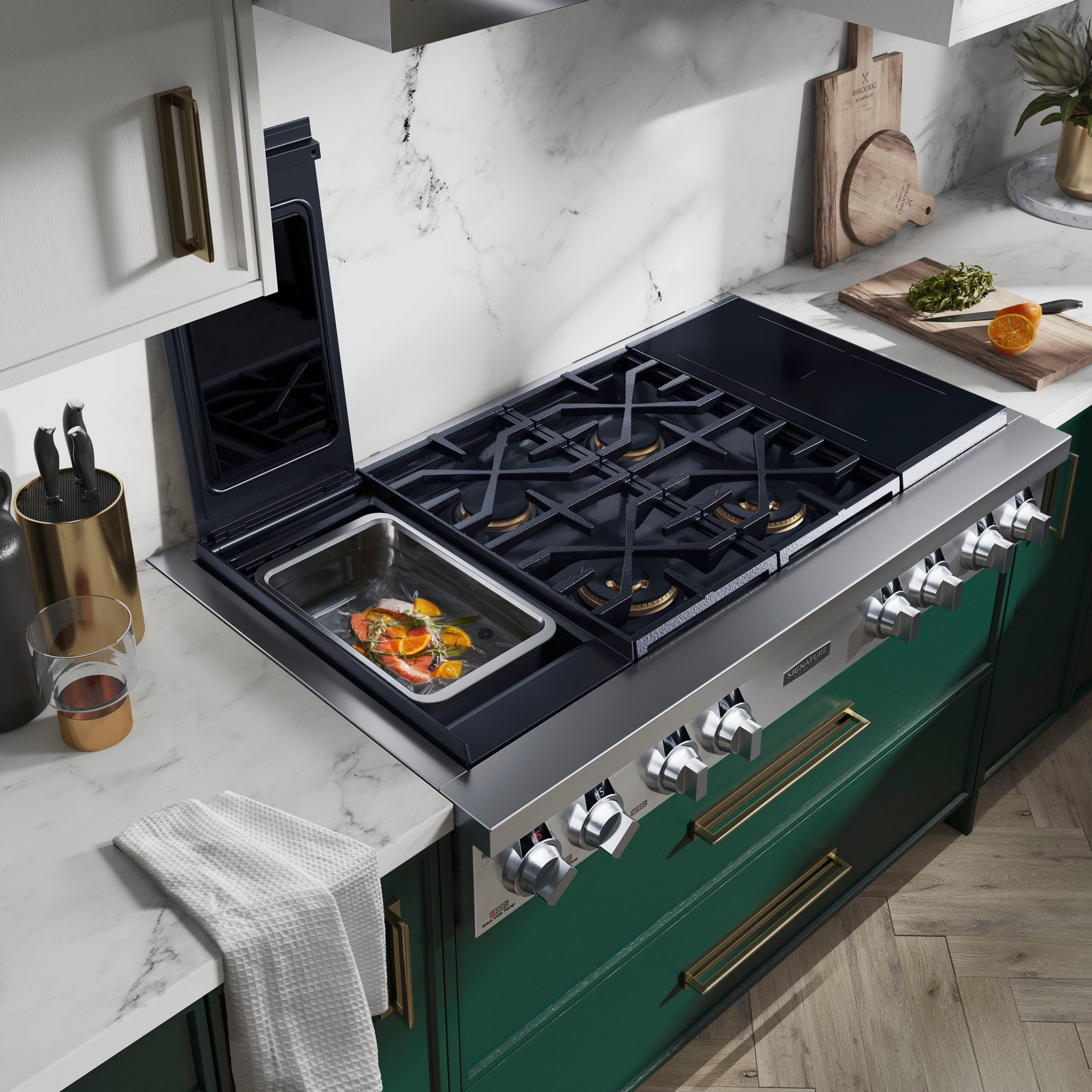 Signature Kitchen Suite is debuting its broadened portfolio of industry-first culinary innovations that will join the brand's award-winning line of luxury, built-in appliances.
