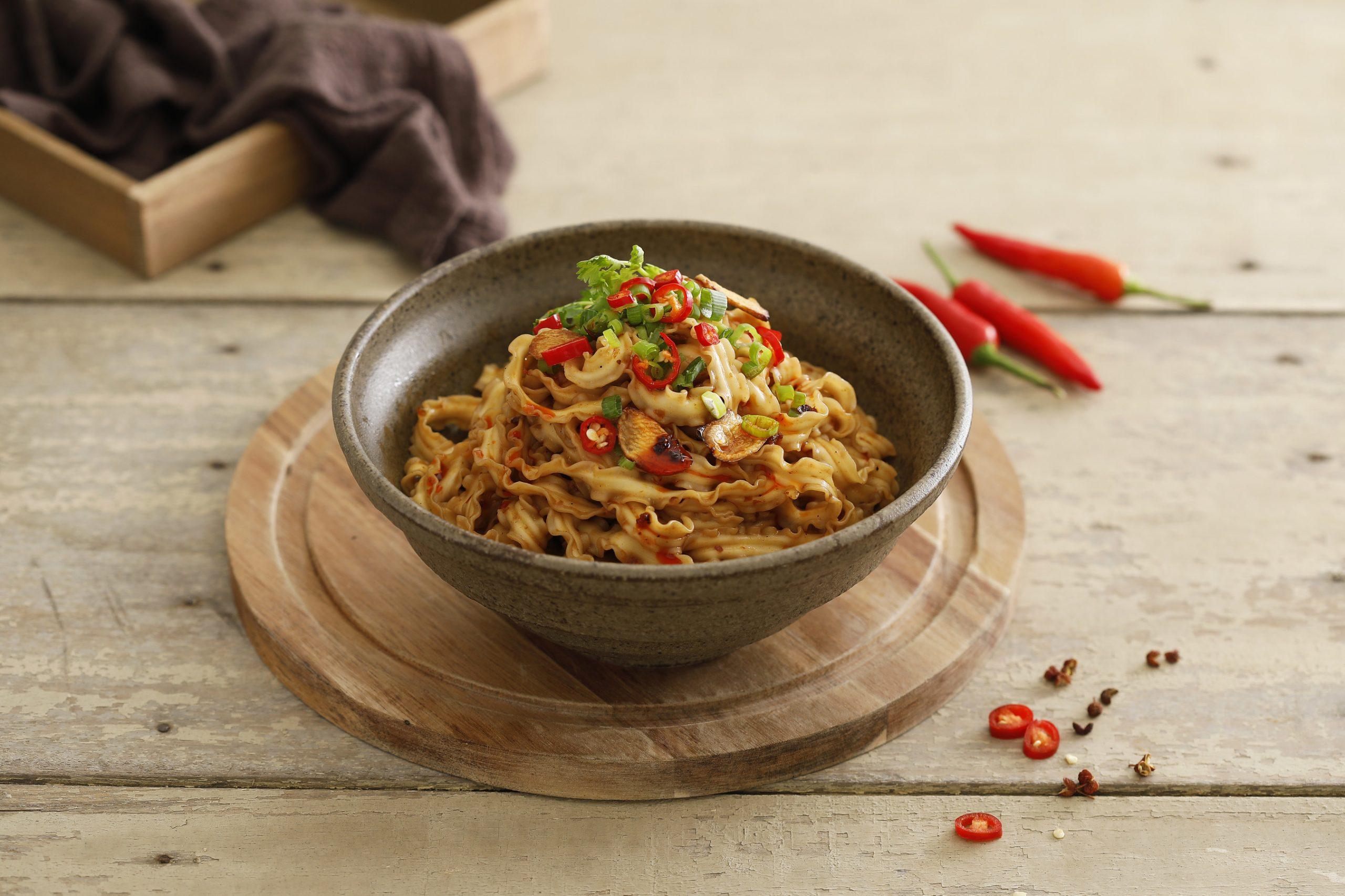 Moms Dry Noodle - Spicy Noodles
