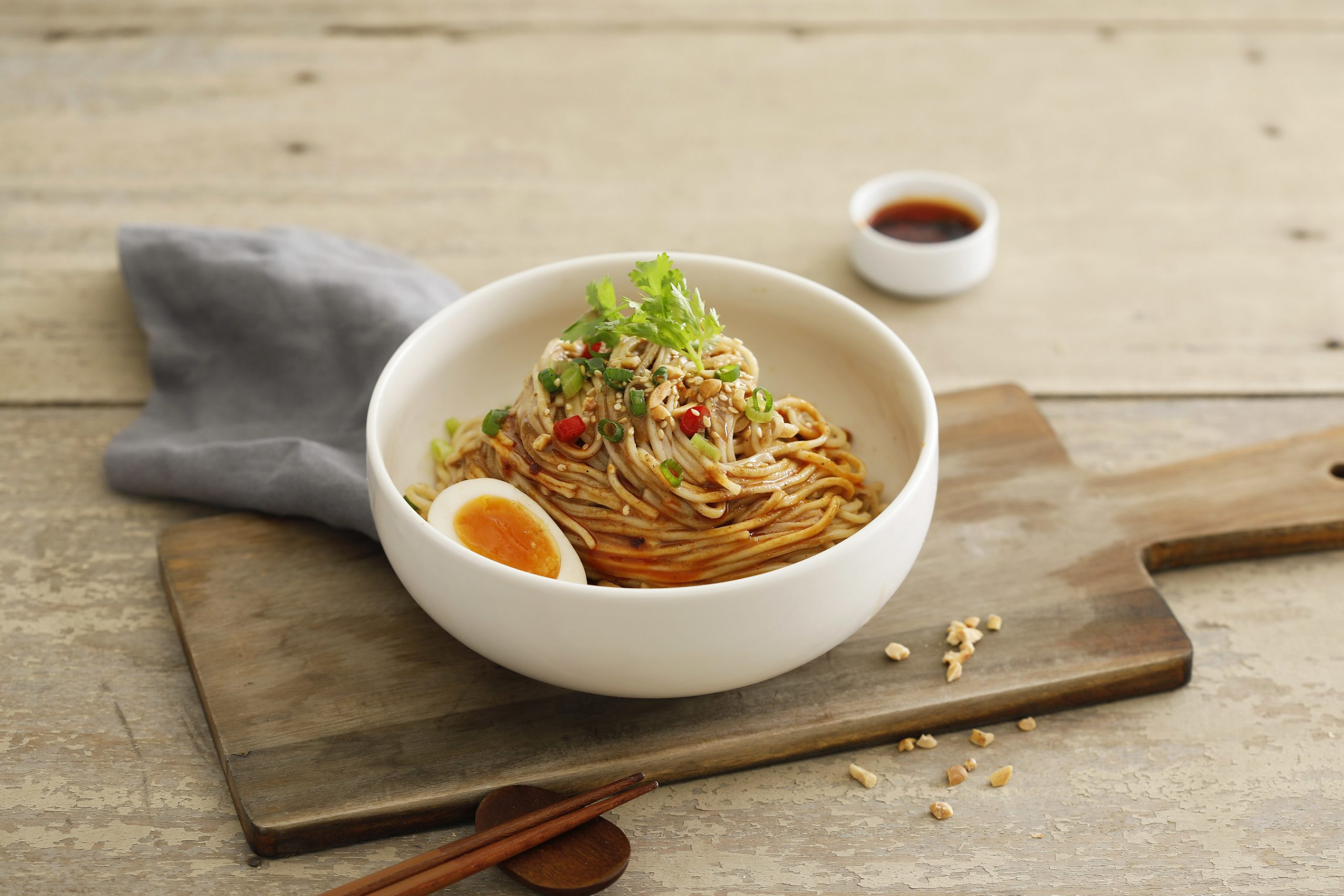 Moms Dry Noodle - Spicy Oil Dan Dan Noodles