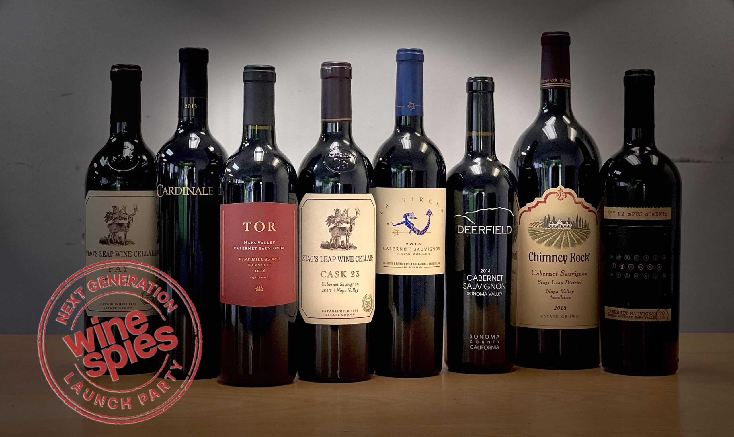 Wine Spies' Cellar Stocker event includes over two dozen wines, from cult Napa Cabs to first growth Bordeaux and everyday values - at the world's lowest prices.