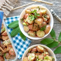 Cooler Friendly Potato Salad