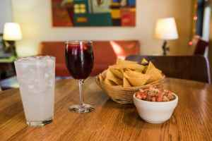 Chips and sangria