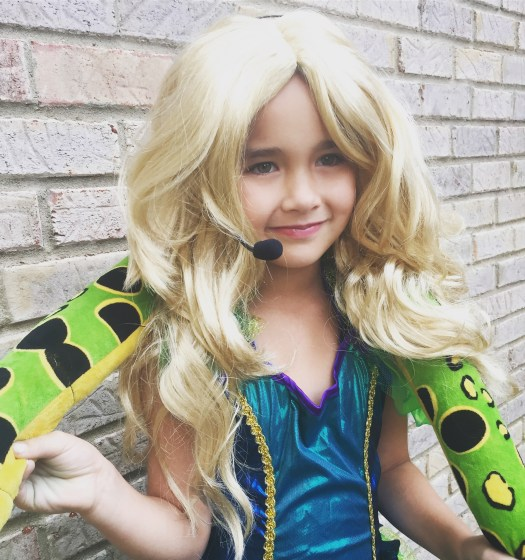 "Britney Spears Kid Costume ""Snake Britney"""