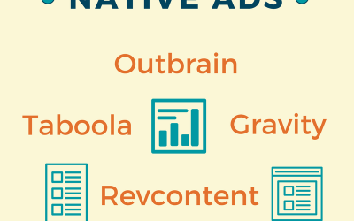 Infographic: Best Sites for Native Ads / Advantages of Cross-Channel Ads