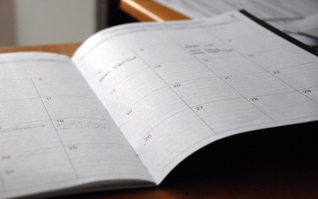 How to Organize Your Personal Schedule