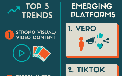 Infographic: Social Media Trends and Platforms