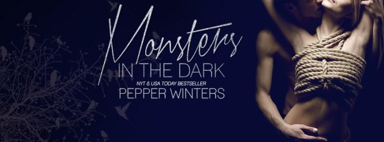 Monsters In The Dark Facebook Cover Art