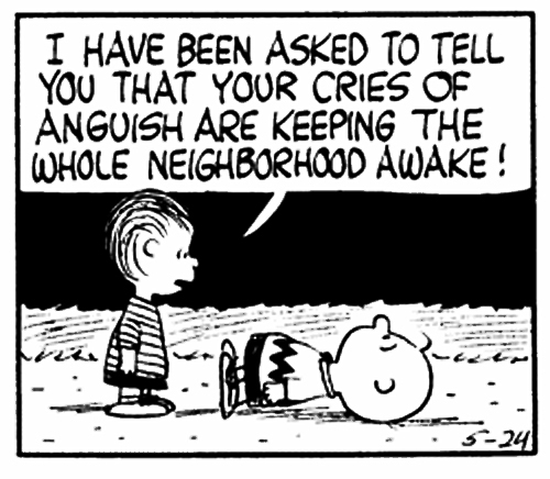 Charlie Brown - Cries of Anguish