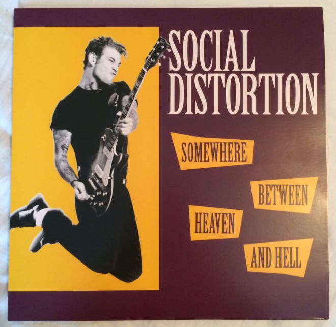 Social Distortion - Somewhere Between Heaven and Hell (Front)