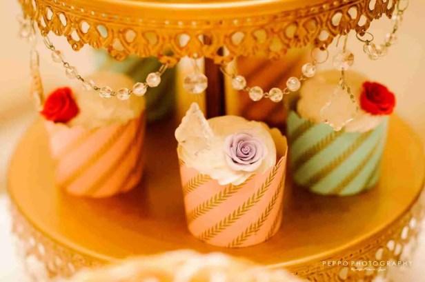 Llamativos dulces de colores pasteles