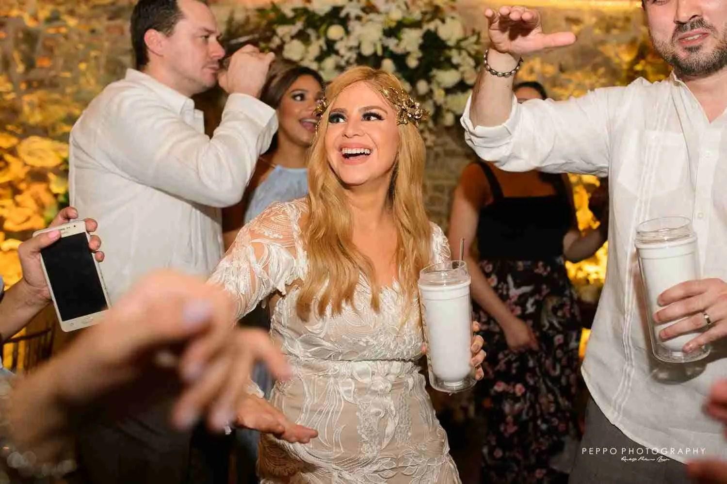 Johanna just a happy bride