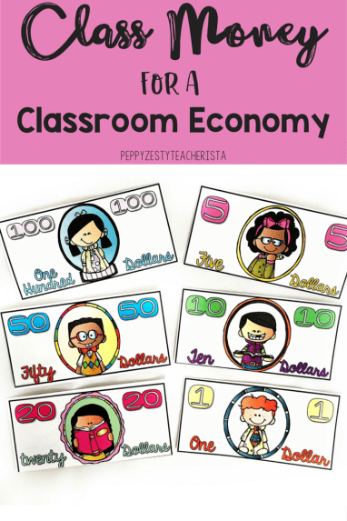 Elementary teacher looking for classroom management ideas that are easy to implement? Check out this back to school ideas post to help how to jumpstart a classroom economy system. This tells you everything complete with managing classroom economy money ! Lots of free resources, too!