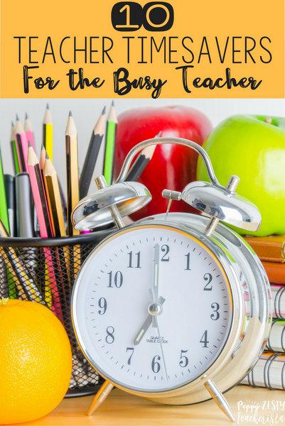 Teacher Time Savers – Peppy Zesty Teacherista