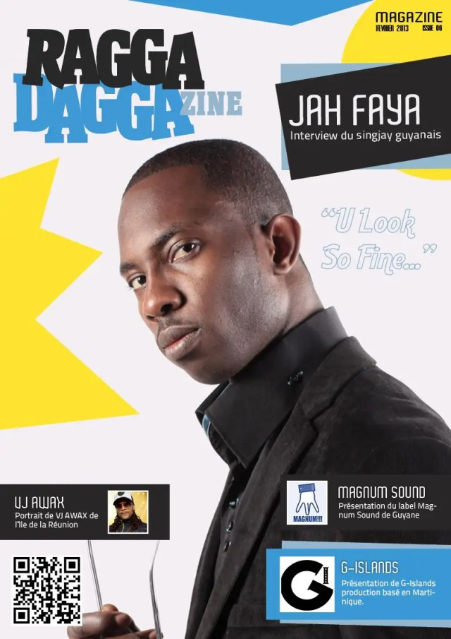 cover raggadaggazine jah faya