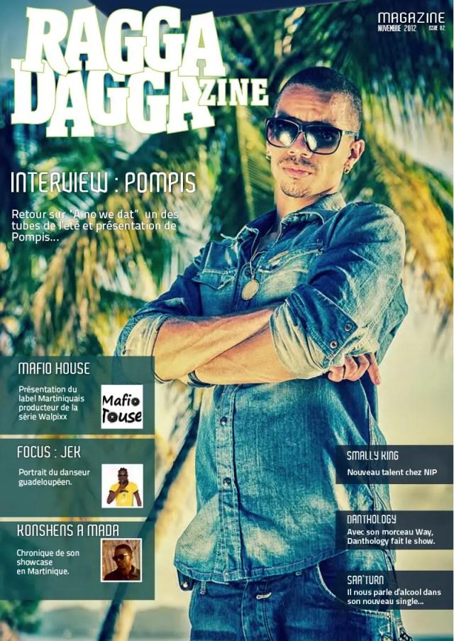 cover raggadaggazine pompis