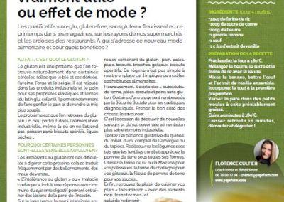 Article pour le magazine santé EMOA