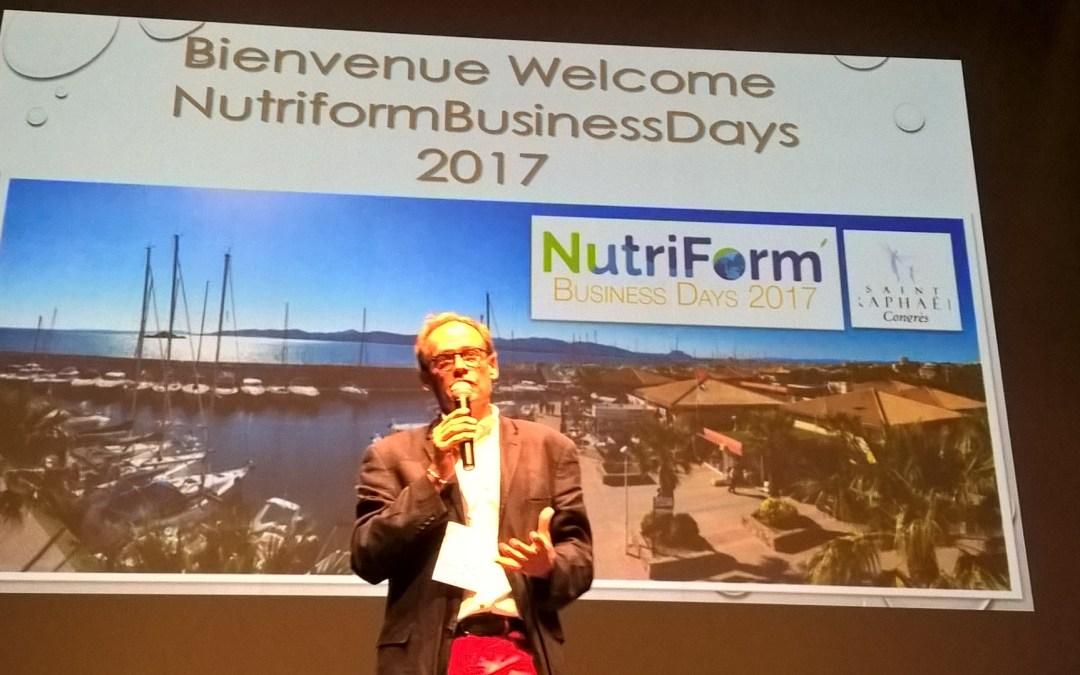 1er congrès nutraceutique : les Nutriform Business Days