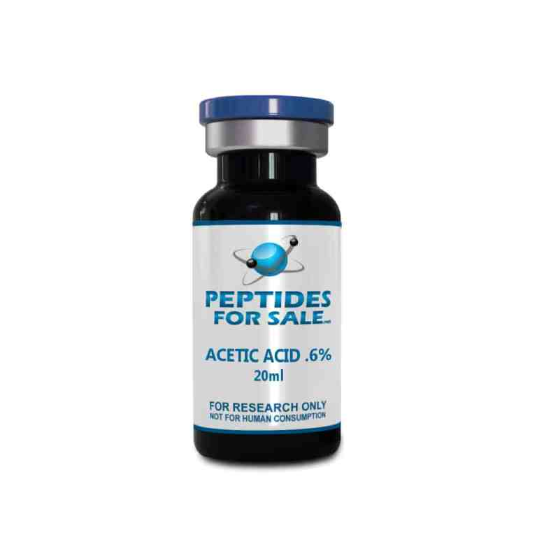 Buy Acetic Acid ( AA ) 0.6% Solution in a 20ml Sealed bottle