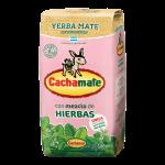 Cachamate Mezcla de Hierbas Rosa Yerba Mate 500 g