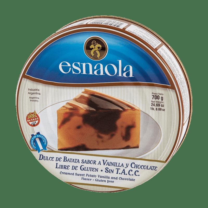 Dulce de Batata & Chocolate Esnaola 700 g