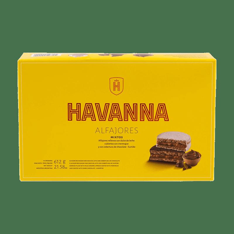 Alfajores Mixtos Havanna - 12 unidades