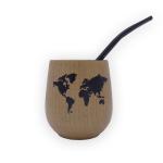 Mate Indira Mapa del Mundo