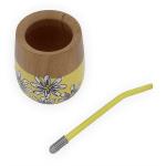 Mate Indira Daisies Yellow Detail