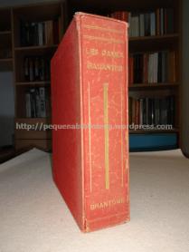 Arquivador para os dois volumes de La Vie des Dames Galantes, de Brantôme, ilustrado por Paul-Émile Bécat. Edição Athéna, 1948