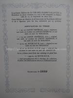 Justificação de tiragem para La Vie des Dames Galantes, de Brantôme, ilustrado por Paul-Émile Bécat. Edição Athéna, 1948