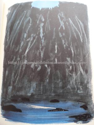 Ilustração de Chapelain-Midy para Vinte Mil Léguas Submarinas de Júlio Verne. Edição Maurice Gonon-