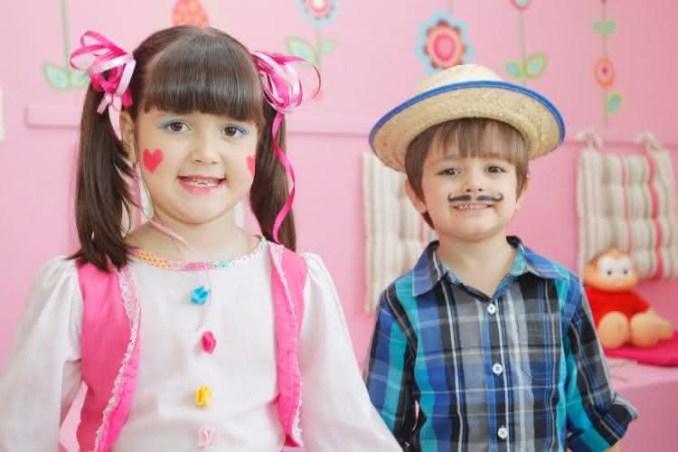 Maquiagem de festa junina 2020 infantil