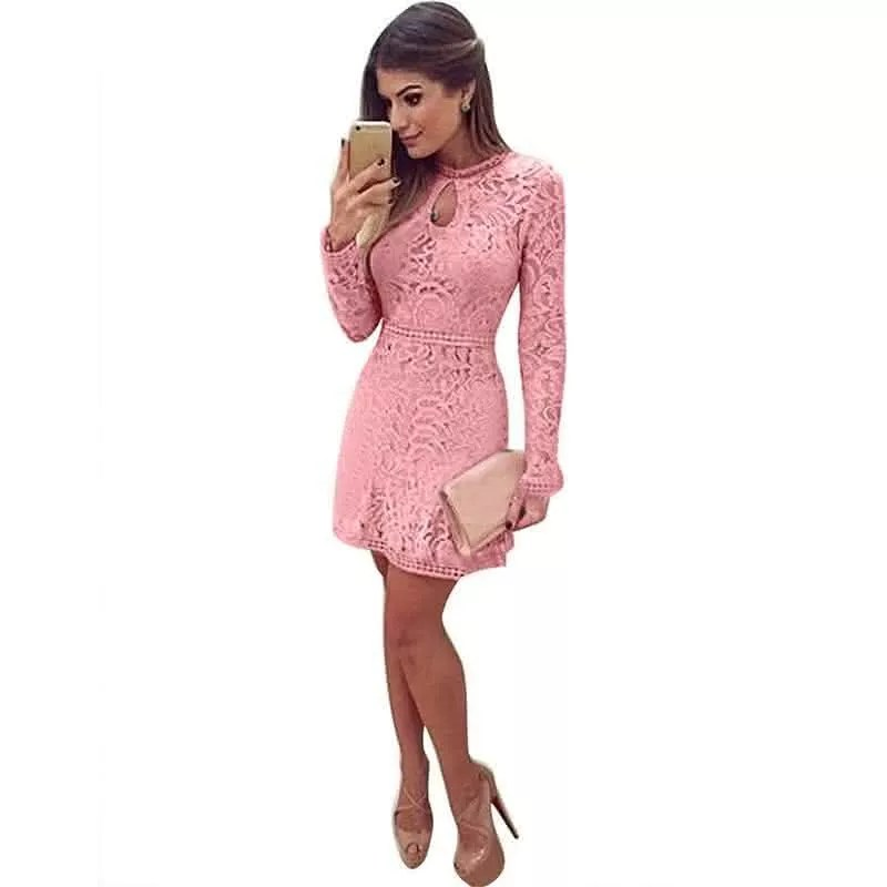 vestido-de-renda-rosa-manga-compridalonga-2016-frete-gratis-373911-mlb20673577416_042016-f