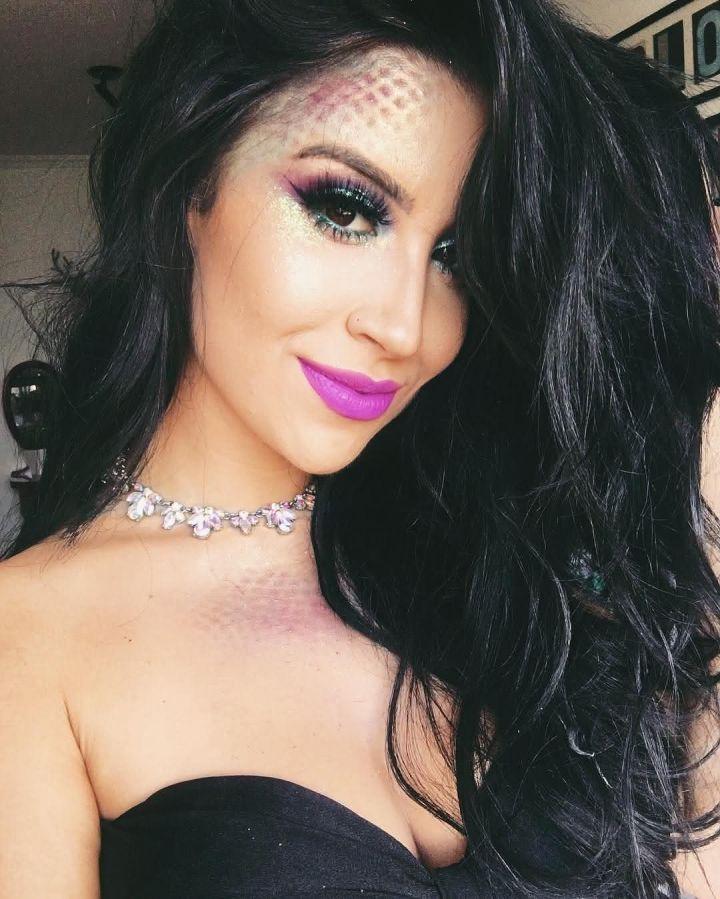 Maquiagem para Carnaval Sereia 2022