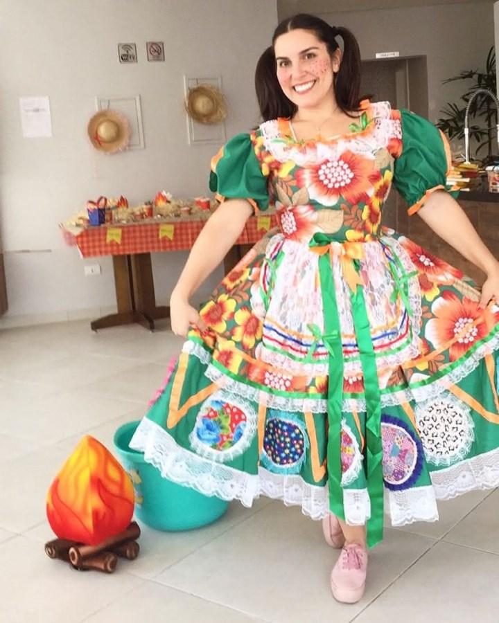 VESTIDO DE QUADRILHA 2021: Modelos Vestidos Juninos, FOTOS