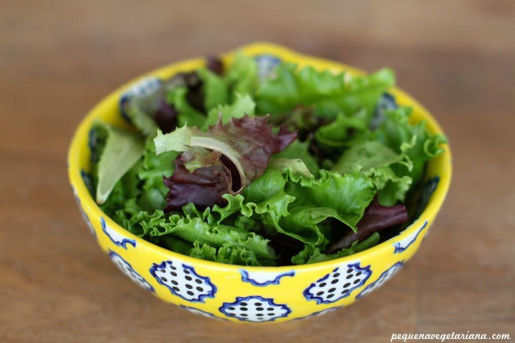 Receita de super salada. Receita de salada que sustenta.
